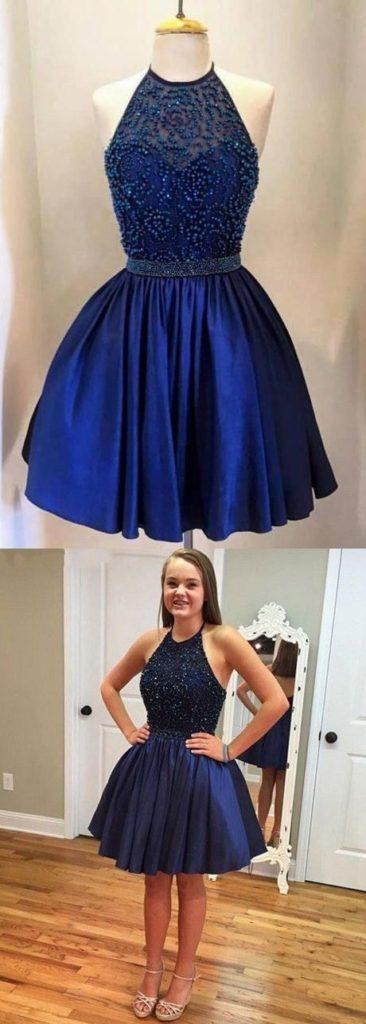 Imagenes de vestidos de color azul