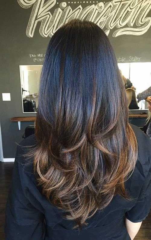 Corte de pelo con balayage