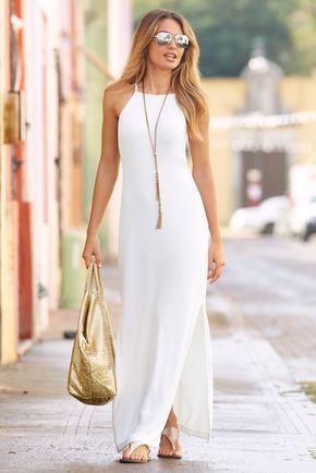 Vestidos largos informales pinterest
