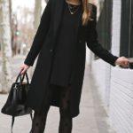 Outfits color negro para invierno 2017-2018