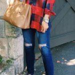 Looks con camisas a cuadros otoño - invierno 2017 (13)