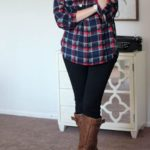 Looks con camisas a cuadros otono - invierno 2017 (24)